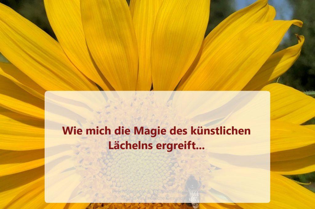 Die Magie des künstlichen Lächelns
