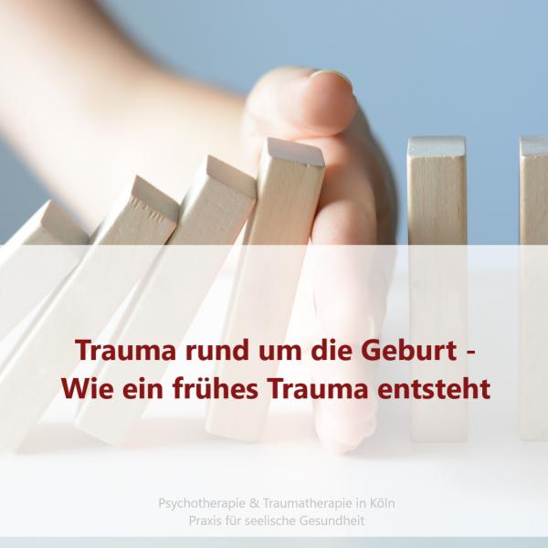 Das frühe Trauma und wie es entsteht
